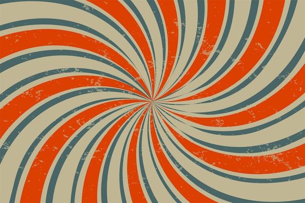 Fundo espiral retro grunge