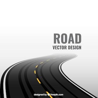 Fundo estrada