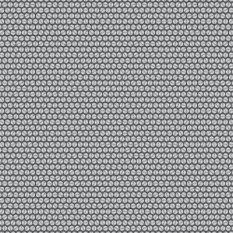 Fundo feito de pequenos parafusos cinza