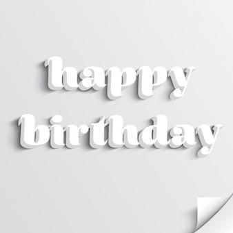 Fundo feliz aniversário