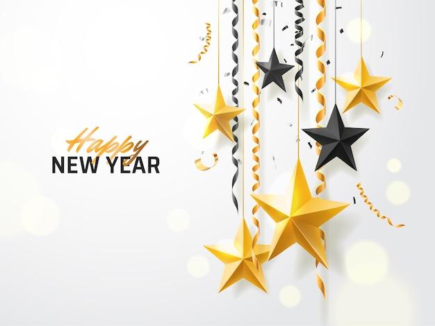 Fundo feliz ano novo