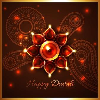 Fundo festival hindu de diwali