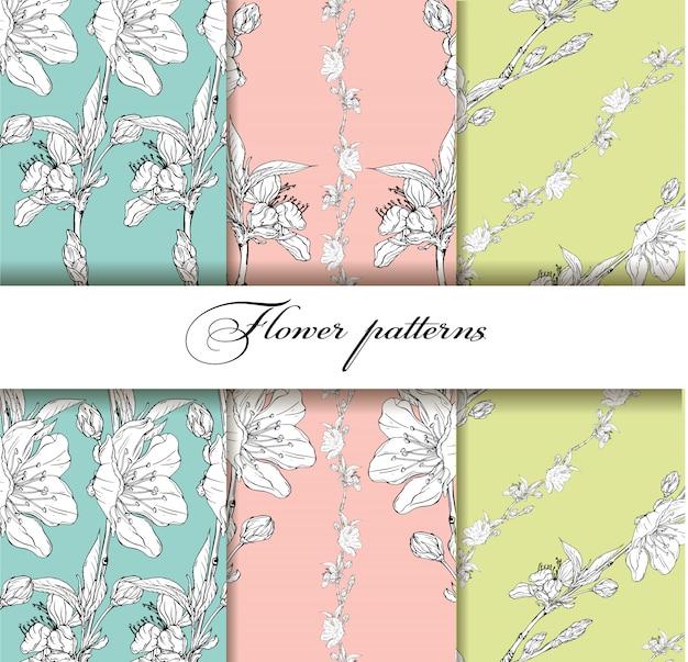 Fundo flor com flores da primavera