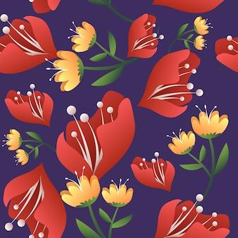 Fundo flor floral abstrato