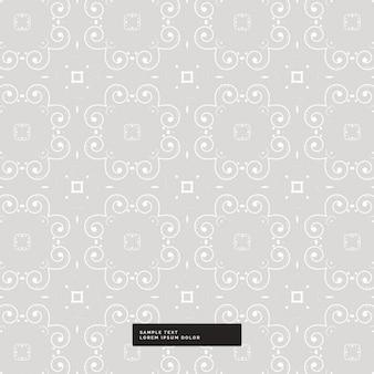 Fundo floral abstrato do teste padrão