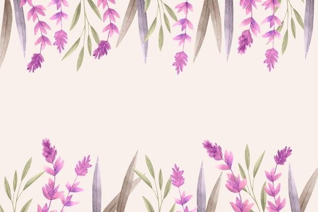 Fundo floral com espaço vazio