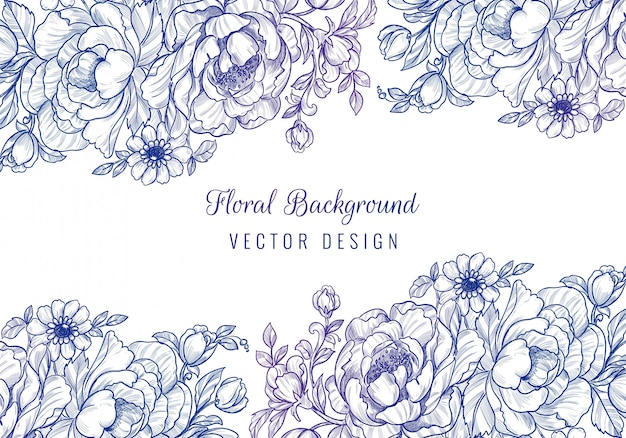 Fundo floral decorativo para casamento