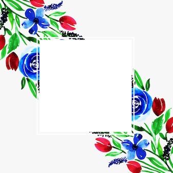 Fundo floral multi-purpose de aquarela para celebrações