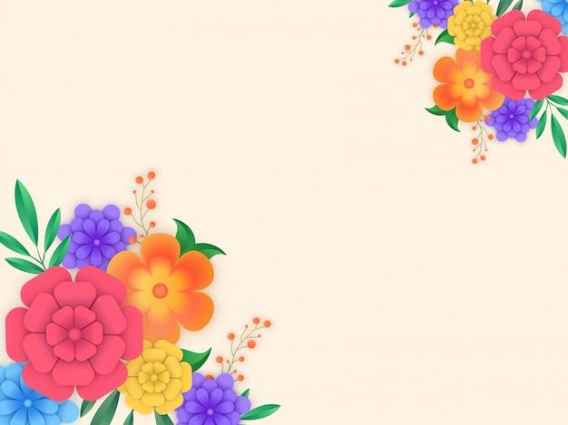Fundo floral.