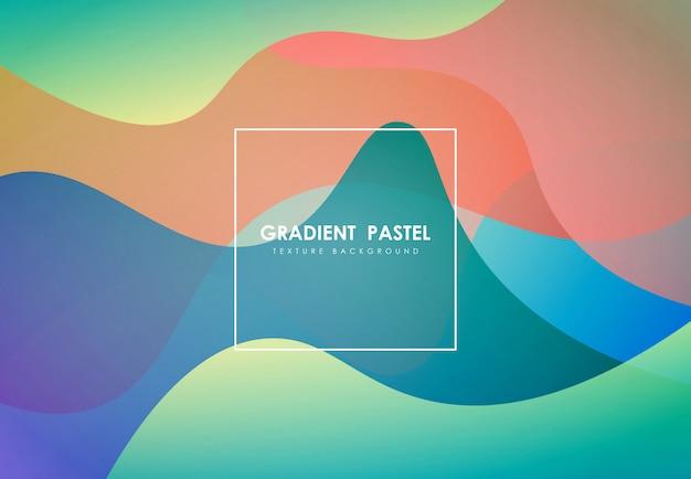Fundo fluido colorido abstrato