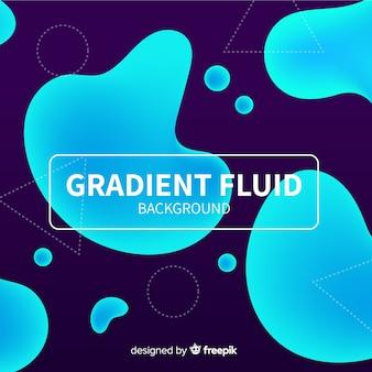 Fundo fluido gradiente