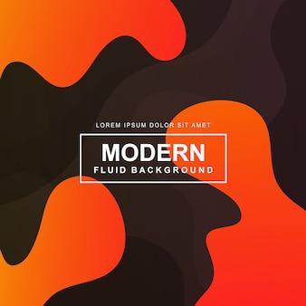 Fundo fluido moderno