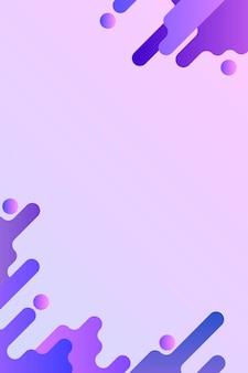 Fundo fluido roxo