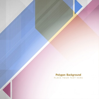 Fundo forma poligonal colorido abstarct