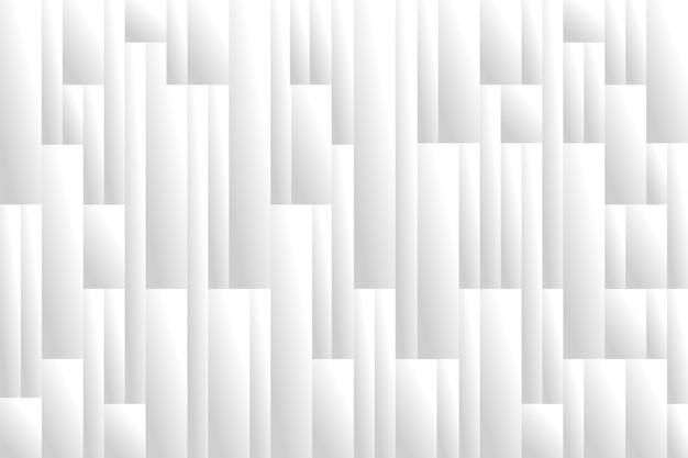 Fundo futurista cinza branco formas geométricas