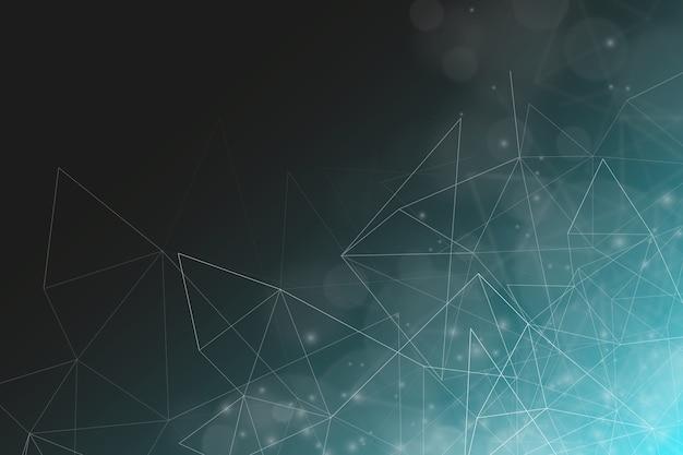 Fundo futurista com linhas