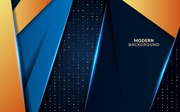 Fundo futuro azul abstrato moderno em textura de pontos