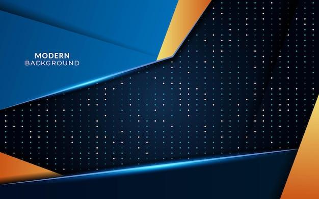 Fundo futuro azul futurista moderno em textura de pontos