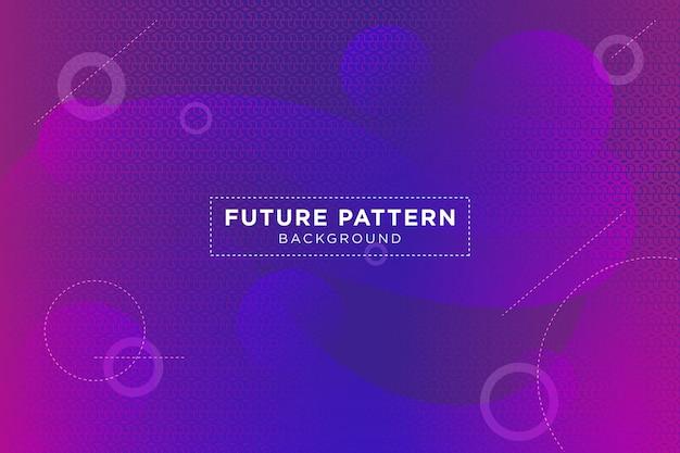 Fundo futuro geométrico gradiente