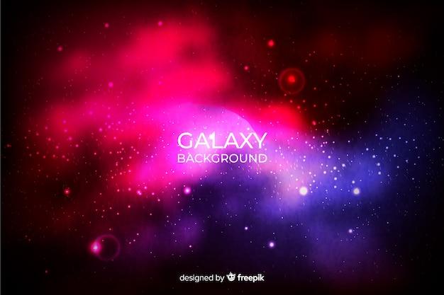 Fundo galáxia realista