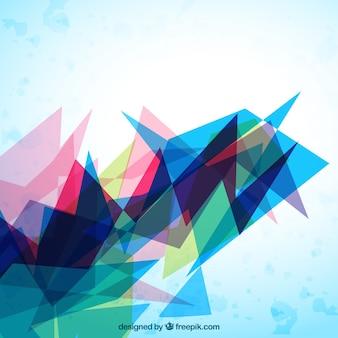 Fundo geometria abstrata