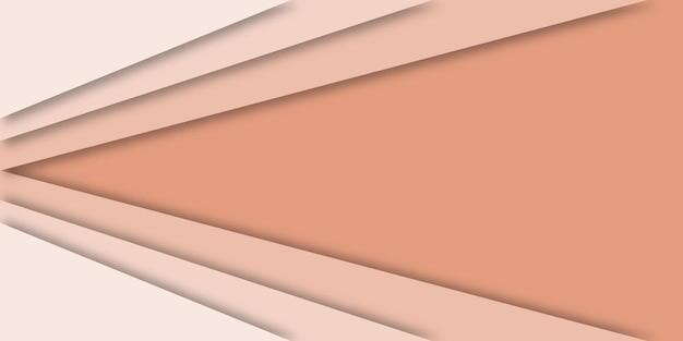 Fundo geométrico 3d abstrato com espaço de cópia.