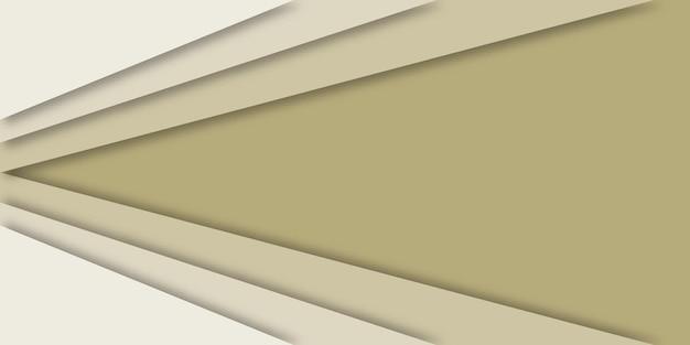 Fundo geométrico 3d abstrato em design de corte de papel.