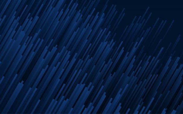 Fundo geométrico abstrato azul escuro, ilustração vetorial.