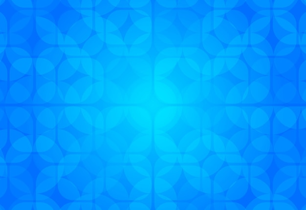 Fundo geométrico abstrato azul
