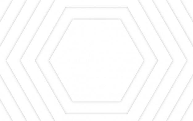 Fundo geométrico abstrato branco