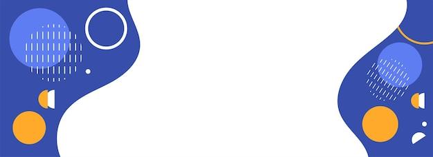 Fundo geométrico abstrato com espaço da cópia na cor branca e azul.
