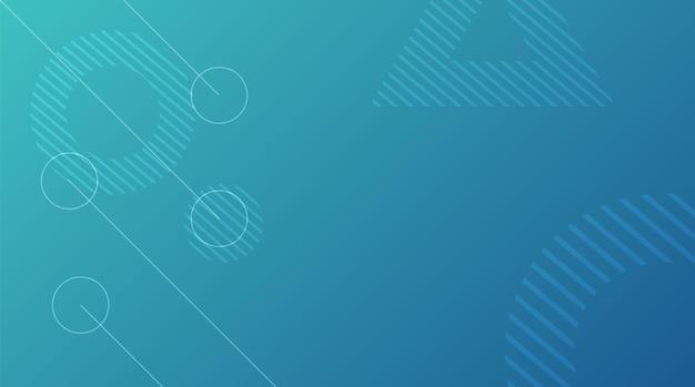 Fundo geométrico abstrato com gradiente