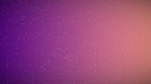 Fundo geométrico abstrato de sircles. fundo de pixel roxo com espaço vazio. ilustração vetorial.
