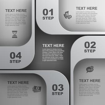 Fundo geométrico abstrato, design de elemento da web, site
