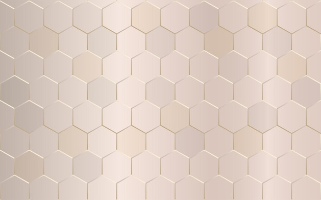 Fundo geométrico abstrato do hexágono.