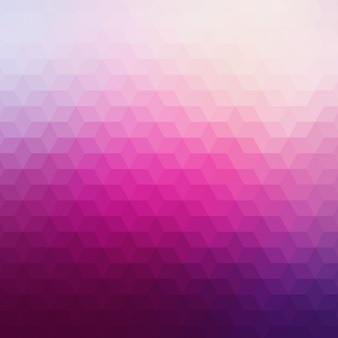 Fundo geométrico abstrato em tons de rosa