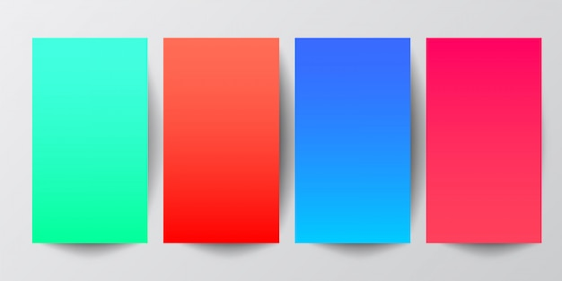 Fundo geométrico abstrato em tons gradientes