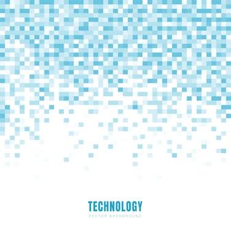 Fundo geométrico abstrato quadrados azuis