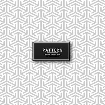 Fundo geométrico abstrato seta padrão