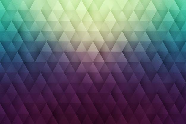 Fundo geométrico abstrato vector 3d