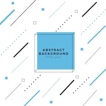 Fundo geométrico abstrato vector