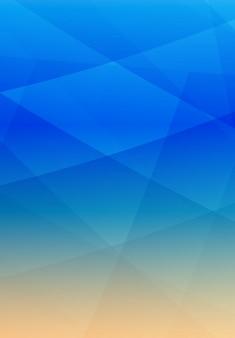 Fundo geométrico abstrato vetorial