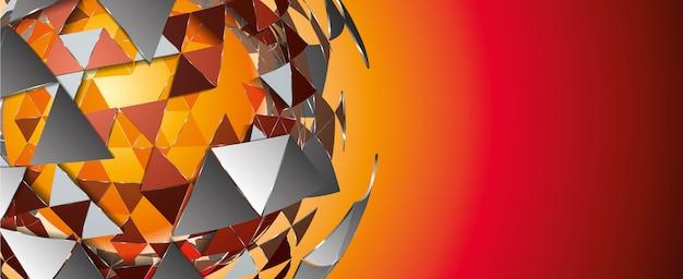 Fundo geométrico abstrato
