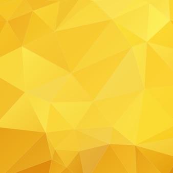 Fundo geométrico amarelo