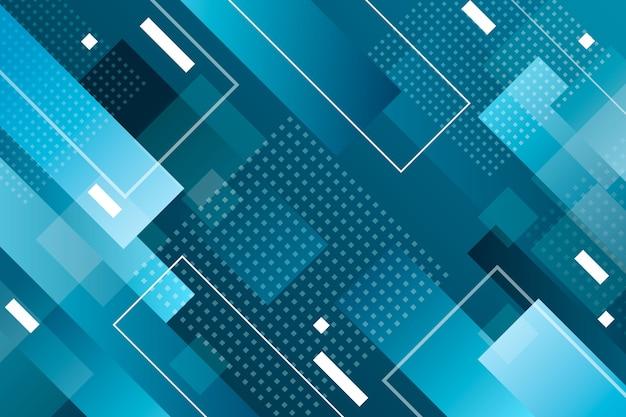 Fundo geométrico azul clássico