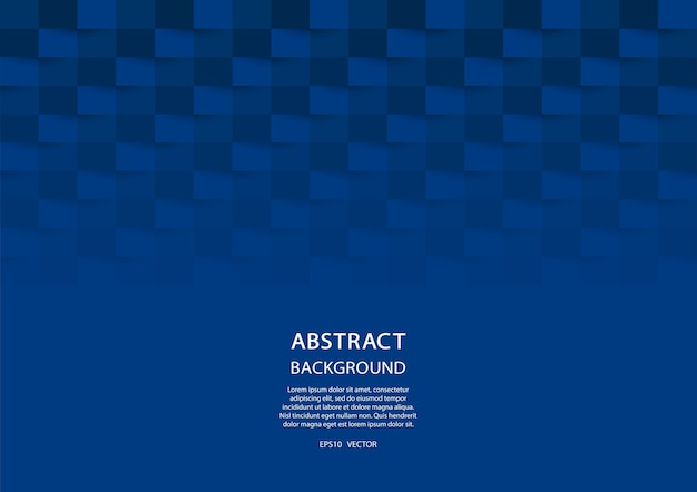 Fundo geométrico azul. design 3d abstrato