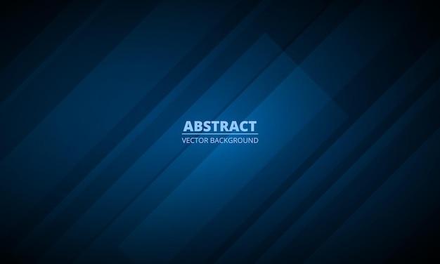 Fundo geométrico azul escuro abstrato com conceito corporativo moderno
