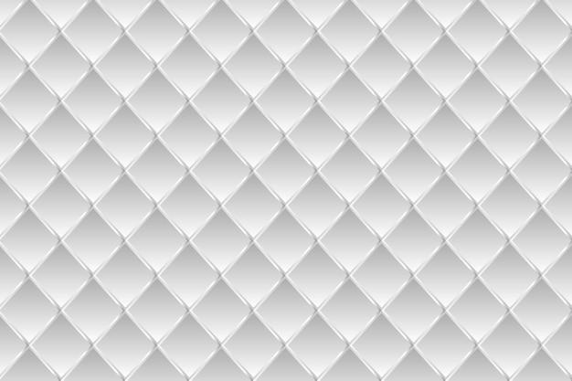 Fundo geométrico branco monocromático