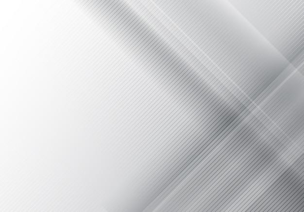 Fundo geométrico cinza abstrato