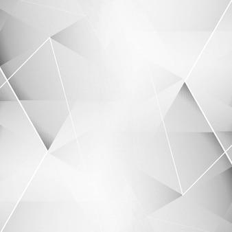 Fundo geométrico cinza elegante